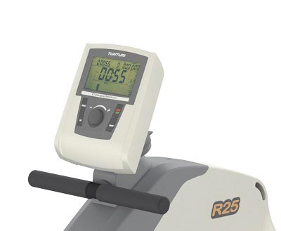 Tunturi R25 Rowing Machine Review Monitor