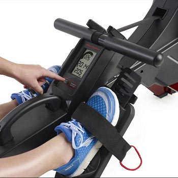 Proform R600 Rowing Machine Review Display
